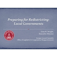 County Managers Learn About Redistricting and Reapportionment at Quarterly Meeting